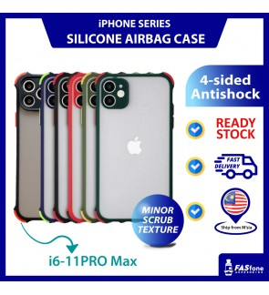iPhone 6 6s 7 8 Plus X 11 Pro Max Case Matte Smooth Anti Shock Protection Creative 4 Side Anti Fall Frosted Camera Full Coverage
