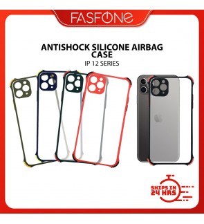 (Ready Stocks) iPhone 12 Mini 12 Pro 12 Pro Max Case Matte Anti Shock Protection Frosted Camera Full Coverage