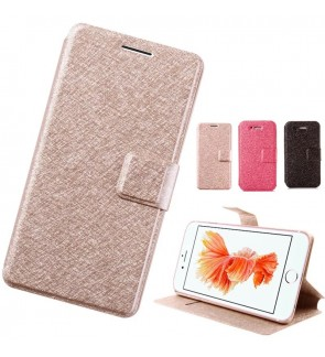 Flip Cover with Card Slot for Apple iPhone 5 5s SE 6 6s 7 8 Plus X Xs