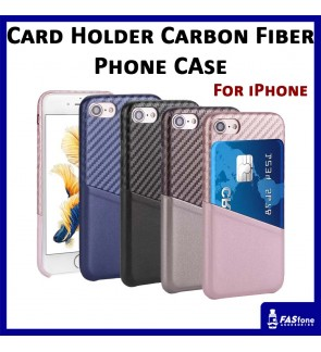 Card Holder Soft PU Leather Case for iPhone 6 6s Plus 7 8 X Xs