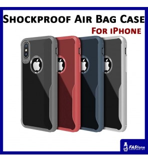 iPhone 5 5S SE 6 6s Plus 7 X Xs Air Bag Transparent Tpu Soft Back Case Back Cover