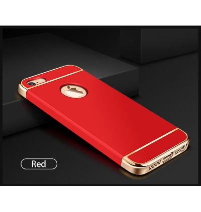 3 in 1 Apple iPhone 3 Layer Thin Hard Back Case for iPhone 5 5S SE 6 6S Plus