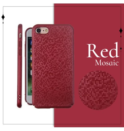 Mosaic Slim Hard Case For iPhone 6 6s 7 8 Plus X Xs