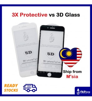 (Ready Stocks) Apple iPhone 5D Full Cover Tempered Glass 6 6s 7 8 Plus X Xs Max 11 Pro Max 12 Mini 12 Pro Max