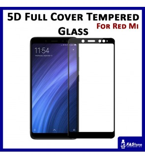 Redmi Note 5 5A 6 6A Mi A2 Lite 5D Full Cover Tempered Glass