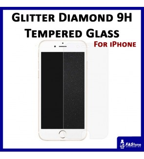 Diamond iPhone 5 5S SE 6 6S 8 7 Plus X 9H Tempered Glass Apple iPhone