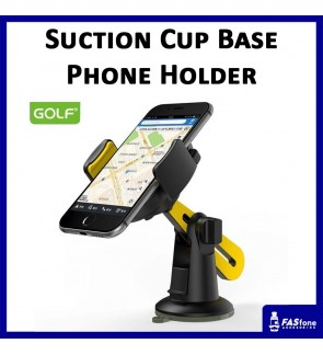 Ori Golf Auto Silicone Suction Cup Base Phone Holder Fit Devices Up to 6 inches