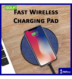 Golf Qi Smart Quick Fast Wireless Charger Pad 10W 1.5A WQ4