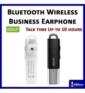 Ori Golf Bluetooth Wireless Earphone Long Standby Business Travel Headset GF-B8