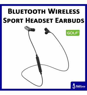 Ori Golf Bluetooth Wireless Stereo Sport Headset Earbuds Earphones In Ear Gym