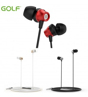 Ori GOLF Wired headset earphone 3.5mm Plug Jack Android and IOS device GF-M14