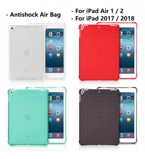 iPad Air 9.7 10.5 Pro 11 1 2 2017 2018 2019  Mini 2 3 4 5 Air Bag Anti Shock Back Case Cover