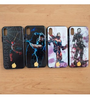 3D Avenger hard Case for iPhone X
