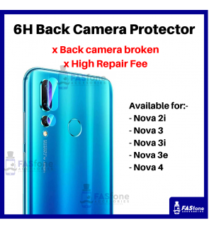 HD Huawei Nova 5T 5 5I 2i 3 3i 3e 4 4E Back Camera Tempered Glass Protector 6H