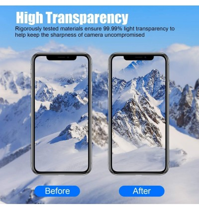 Honor 7X 8X V10 V20 Note 10 Play 9 Lite Back Camera Tempered Glass Protector 6H