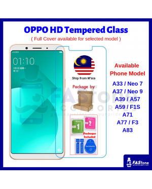 9H OPPO A1K A3 A3s A5 A5s A7 A33 A37 A39 A57 A59 A71 A77 A83 F1 F1S F3 Tempered Glass Protector