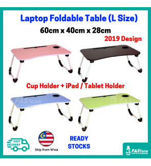 (M'sia R.Stock) Foldable Table Laptop Table Portable Table Bed Table Small Table