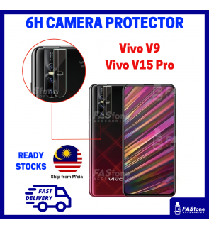 HD ViVo V9 Vivo V15 Pro Back Camera Tempered Glass Protector 6H