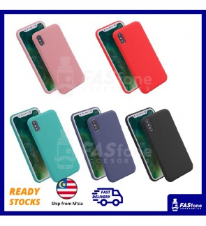 Candy Color Slim Soft Case for iPhone 7 8 Plus X