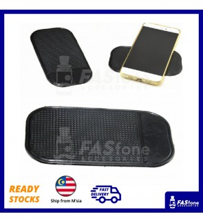 Car Anti Slip Mat (Black and Transparent Color Available)