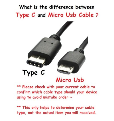 Golf Fast Charge Nylon Braided Micro Usb / Apple Lightning / Type C Cable (2.4A)