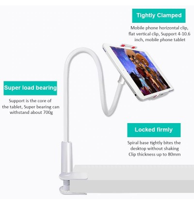 Lazy Bed Desk 360 Stand Holder Mount For iPad Tablet