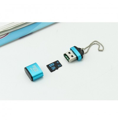 2.0 TF Micro SD Memory Card USB Reader (up to 480mbps)