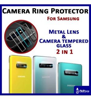 Samsung Note 10 Plus S10 Plus Camera Ring Protector Lens Tempered Glass Protector