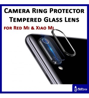 REDMI NOTE 7 8 PRO K20 PRO MI 9 CC9 NOTE 10 Camera Ring Protector Lens Tempered Glass Protector