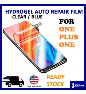 One Plus 5 / 5T / 6 / 6T / 7 / 7 PRO Clear & Blue Ray Hydrogel Soft Screen Protector Film Auto Repair Screen Full Cover