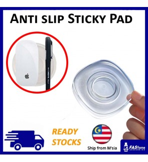 (Ready Stocks) Anti Slip Sticky Pad Non Slip Mat Car Mobile Phone Holder Key Holder Silica Gel