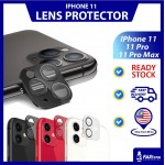 iPhone 11 Camera Protector 2 in 1 Tempered Glass Full Cover iPhone 11 Pro Max iPhone 11 Pro Metal Lens Protector