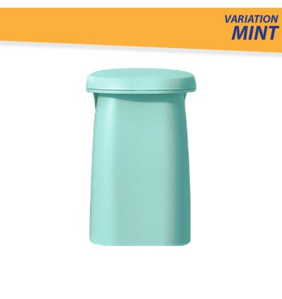 Magnetic Suction Mouthwash Cup Free Punch Wall Mounted Toothbrush Cup Upside Down Drain Water