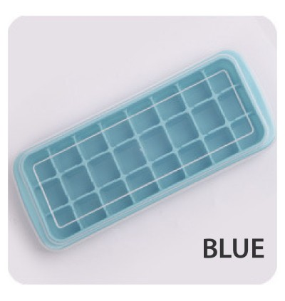 Silicone Mould Mold Ice Cube Tray Home Kitchen Tool Square Shape Ice Cube Baby Food Tray Supplement