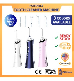 (Malaysia Ready Stocks) Water Flosser Tooth Cleaning Tool Portable Oral Irrigator Dental Electric